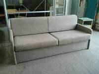 Beige sofa bed (single)