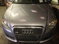 2006 Audi A4 S-line complete front end LY 7H colour code