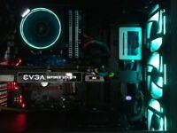 Gaming PC, GTX 1070, 16GB 3000MHZ RAM, 500GB M.2. SSD, Ryzen 5 1600 CPU, Selling from GUERNSEY