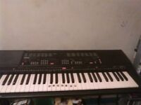 this keyboard I use to play all the time but I fined a better instruments to play