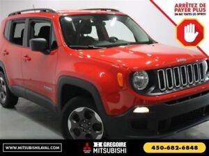 2016 Jeep Renegade Sport 4X4 A/C Groupe.Elec MP3/AUX