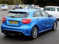 MERCEDES-BENZ A CLASS A180 1.5 CDi BLUEEFFICIENCY AMG SPORT 5dr AUTO ** (blue) 2015