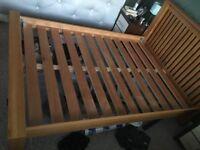 Solid Oak Bedroom Furniture Set -