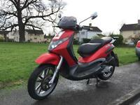 Piaggio Beverly 125cc scooter 2004 54 low miles
