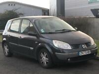 Renault Megane scenic LHD..French registered..left hand drive