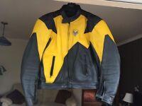 Frank Thomas Leather Motorbike Jacket.