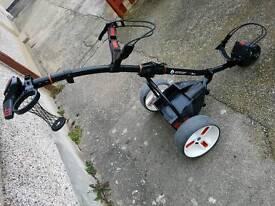Motocaddy S1 Pro golf trolley