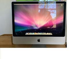 "Apple iMac 2007 20"" Core 2 Duo 2.60 GHz 4GB RAM 160GB HDD OS X 2007"