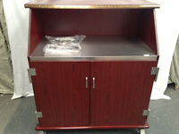 NEW Serving Trolley Cabinet