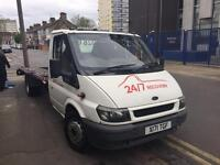 very nice and reliable recovery truck! ford transit