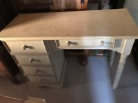 Distressed Dressing Table
