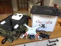 DJI Phantom 2 Drone and Zenmuse H4-3D gimbal