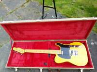 Keith richards telecaster homage and tweed case