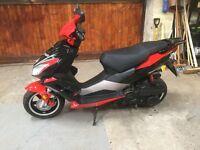 Pulse light speed 2 125 scooter