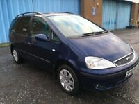 (56) Ford GALAXY Zetec1.9 tdi , mot - October 2018 , only 55,000 miles , 2 owners ,sharan,zafira,c4