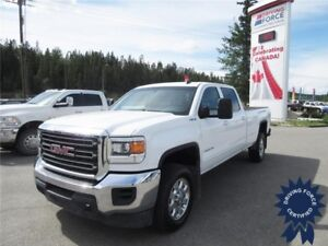 2015 GMC Sierra 3500HD SLE Crew Cab 4x4 - 52,105 KMs, Long Box