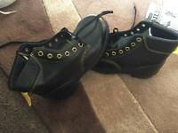 Safety boots steal toe caps oil resistant heat size 5 /38 New