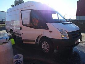 Ford Transit 350 Extra Long Jumbo Van Full MOT