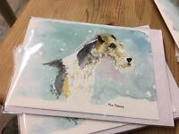 Wire Fox & Welsh Terrier Cards