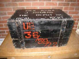 Military wooden box for sale
