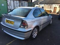 2002 BMW 320d SE with new MOT. In lovely condition.