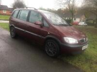Vauxhall zafira 2.0dti spares or repairs