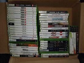 49 Xbox Games Xbox 360 (Call Of Duty, Farcry, FIFA, Destiny, Assassins Creed, Halo, WWE)