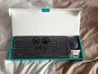 Logitech Wireless Keyboard and Mouse Combo - mk360