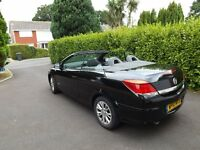 Vauxhall Astra Twintop Convertible 10 plate 1.8 Sport Black with parking sensors