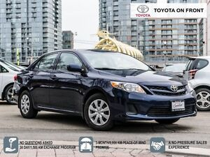 2013 Toyota Corolla CE One Owner well Priced and ready to go