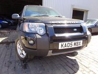 05 LAND ROVER FREELANDER 2.0 DIESEL AUTOMATIC,MOT FEB 17,PART HISTORY,VERY RELIABLE, LOVELY EXAMPLE