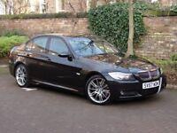 EXCELLENT MODEL!!! 57 REG BMW 3 SERIES 3.0 330I M SPORT 4d AUTO 255 BHP, FULL LEATHER, 1 YEAR MOT