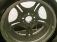 Alloy wheels with tyres 17 inch
