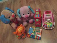 Toy bundle or bought separate, vtech fisherprice elc (see all photos)