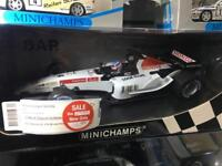 BAR minichamps Honda F1 model car scale 1:18