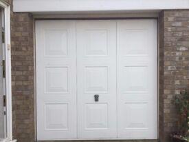 7'x7'White Garador garage door