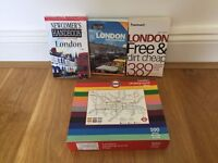 London kit - tube map puzzle and guides (books)