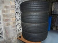 4 X Continental 215/55R18 tyres