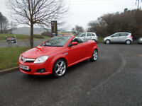 VAUXHALL TIGRA 1.4 EXCLUSIVE SPORTS CONVERTIBLE STUNNING RED 2006 BARGAIN £995 *LOOK* PX/DELIVERY