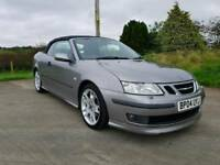 2004 SAAB 93 AREO CONVERTIBLE SOLD WITH A FULL YEARS MOT POSSIBLE PART EXCHANGE