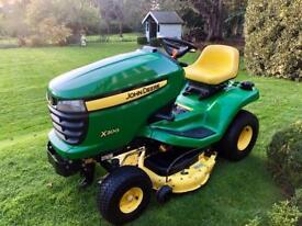 "John Deere X300 Ride on Mower - 42"" Mulch Deck"