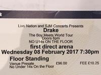 1 Drake Ticket - Leeds Arena 8th February