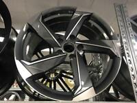 "4 18"" alloy wheels alloys rims tyre tyres 5x112 seat Skoda audi Vw Volkswagen"
