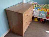 John Lewis Natural Chest of Drawers