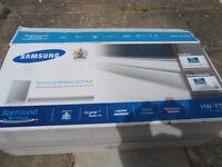 Samsung HW-F551/EN 2.1 Sound bar with Subwoofer (310 Watt, Sound Share, Bluetooth) silver