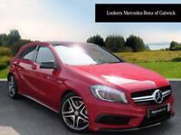 Mercedes-Benz A Class A45 AMG 4MATIC (red) 2014-06-13