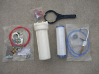 Undersink under sink Water Filter System Kit Limescale & Chlorine Removal