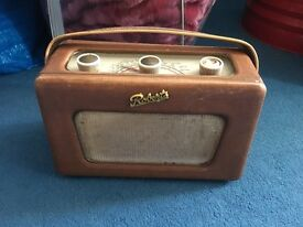 Old roberts radio - unclear if works, vintage, decoration