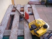 prfessinal 2/stroke petrol hedgecutter by alpina hardly used see listing