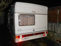 ABI Jubilee Globetrotter Used Caravan 4/5 birth with mover